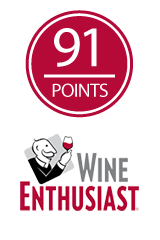 91 Points - Wine Enthusiast, 2013 Villa Oneiro Chardonnay