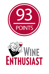 93 Points - Wine Enthusiast, 2013 Villa Oneiro Pinot Noir